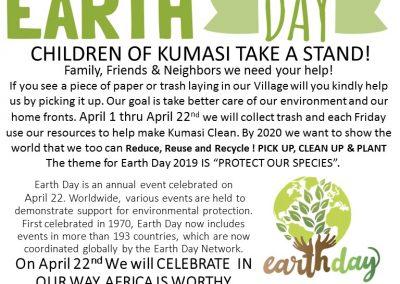 Earth Day In Kumasi