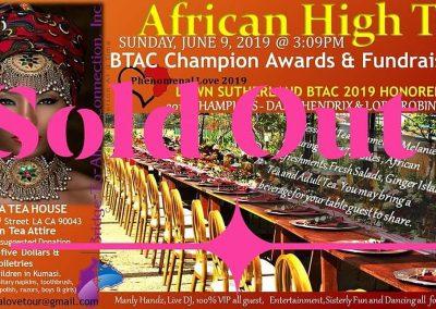 African High Tea Event