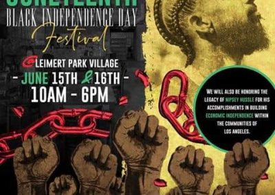 BLACK ARTS LOS ANGLES| JUNETEENTH HERITAGE FESTIVAL2