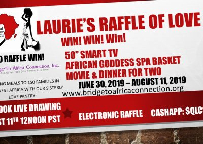 Laurie Raffle of Love Event 2019