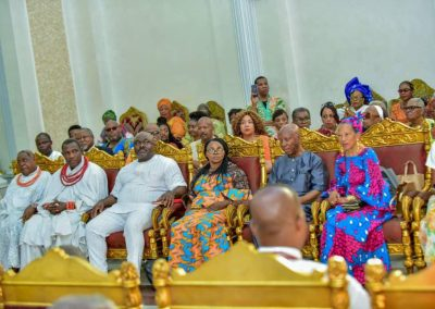 AFI Trailblazers Visit with the OBA in Benin City4