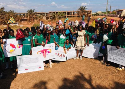 BTAC MENSTRAL HYGIENE and Days for Girls Training at Feyiase R:C Primary School1