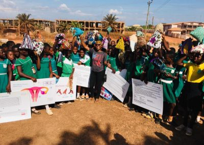 BTAC MENSTRAL HYGIENE and Days for Girls Training at Feyiase R:C Primary School15