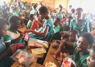 BTAC MENSTRAL HYGIENE and Days for Girls Training at Feyiase R:C Primary School3