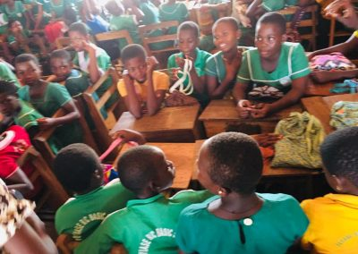 BTAC MENSTRAL HYGIENE and Days for Girls Training at Feyiase R:C Primary School4