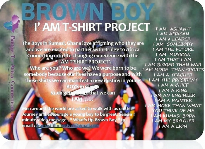 BROWN BOY PROJECT POSTER
