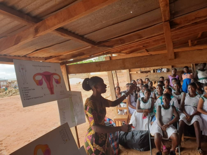Bridge-To-Africa Connection, Inc. collaborated with Join Hands Ghana17