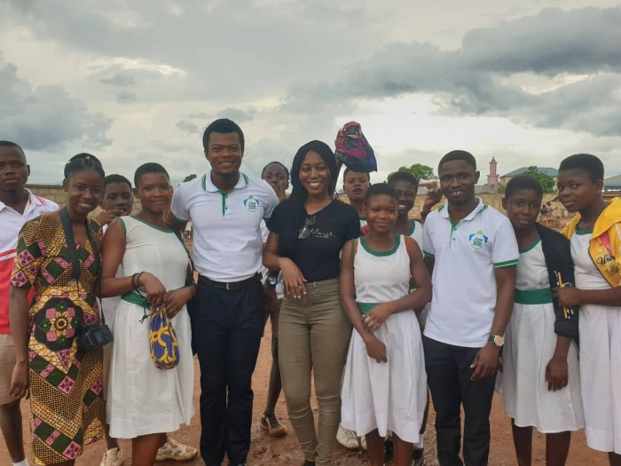Bridge-To-Africa Connection, Inc. collaborated with Join Hands Ghana9