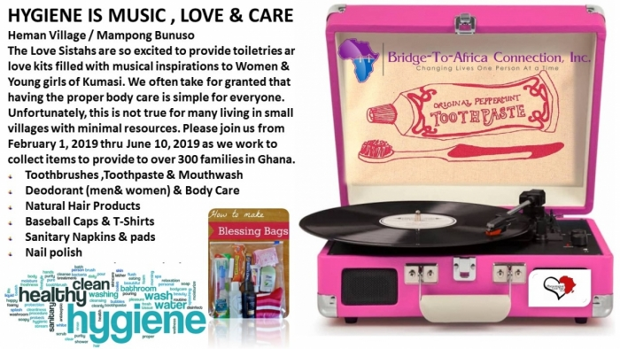 HYGIENE IS MUSIC , LOVE & CARE