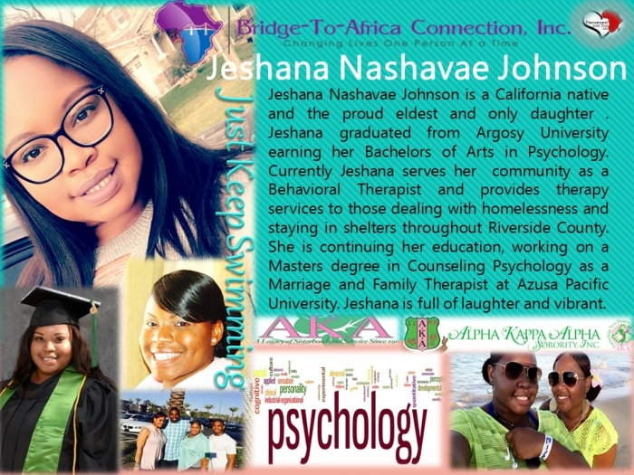 JESHANA NASHAVAE JOHNSON