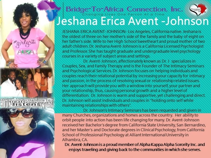 Jeshana Erica Avent - Johnson