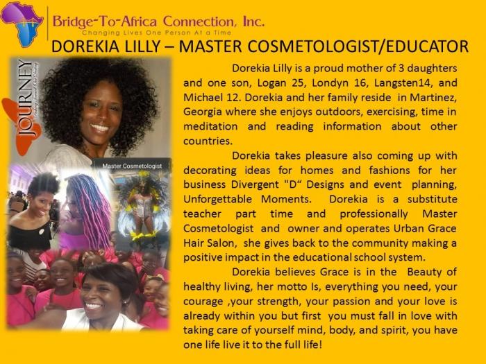 12 Dorekia Lilly- Master Cosmetologist/Educator 12