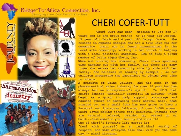 13 Cheri Cofer - Tutt