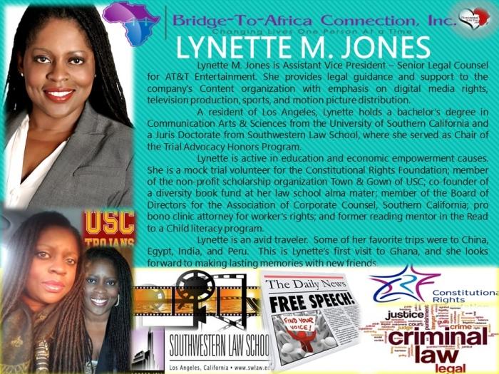 LYNETTE M. JONES