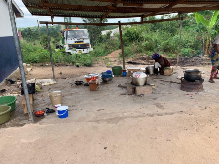 Khloe Kares Living Water Project at Hemang RC Primary School